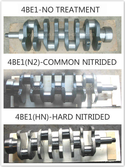 Crankshaft for Isuzu Engine 4be1/4bd1/4bc2/4hf1/4bb1/4bg1/4jb1/6bd1/6bg1