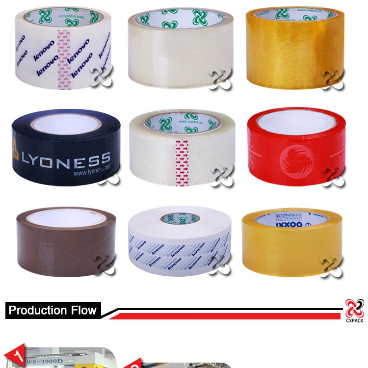 Small Roll Custom Printing Tape