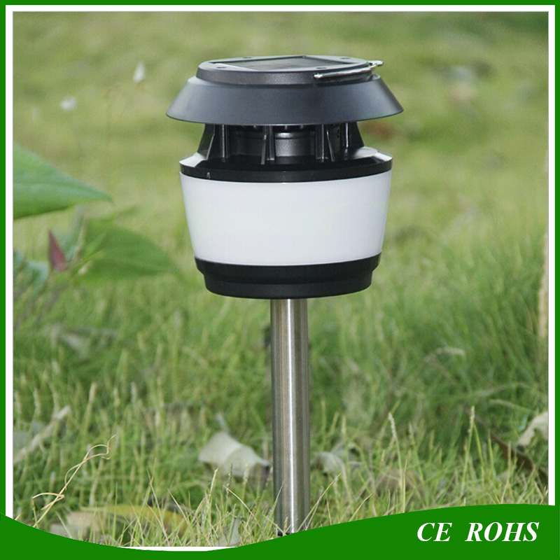 Full Function Mosquito Dispeller Solar Lawn Lanscape Spike Light Solar Hanging Emergency Camping Lantern Outdoor IP65 Tent Lamp