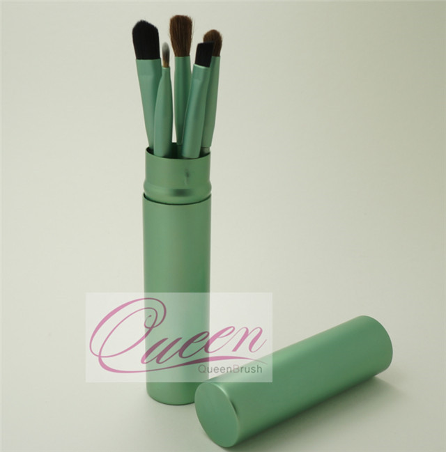 Free Sample 5PCS Green Eyeshadow Makeup Brush Tool Kits