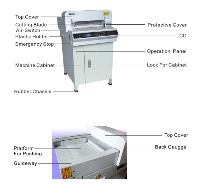 Yes Computerized and New Condition Paper Cutting Machine (4606H)
