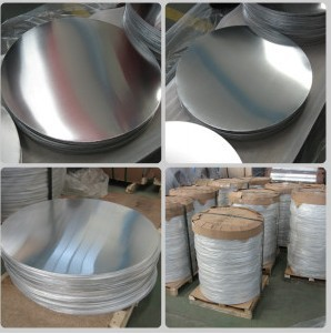 Hot Roll Aluminum/Aluminium Circle for Cookware (A1050 1060 1100 3003)