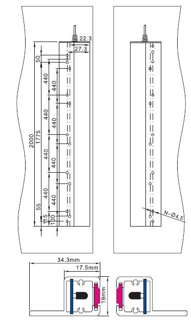 Sft Elevator Light Curtain (SFT-632N)