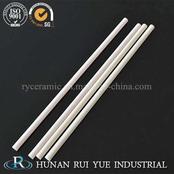 95% Alumina Ceramic Tube with White and Pink