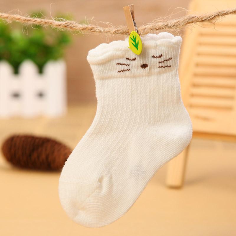 Summer Mesh Hello Kitty Design Kid Cotton Socks