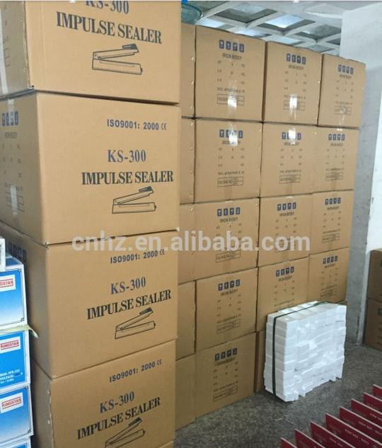 Portable Hand Heat Sealing Machine with Plastic Body
