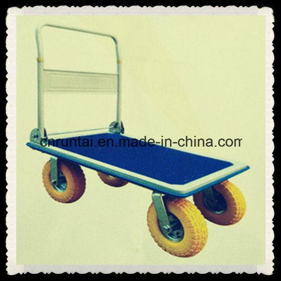 Steel Four Wheels Foldable Platform Hand Truck