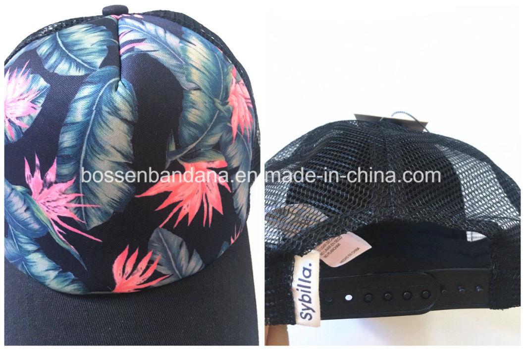 OEM Customized Design Heat Transfer Print Sports Baseball Cap Manufacturer