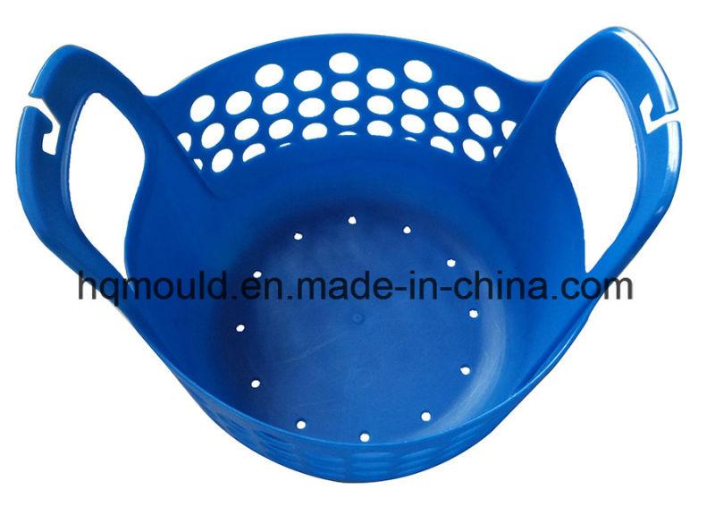 Plastic Soft Basket Injection Mould