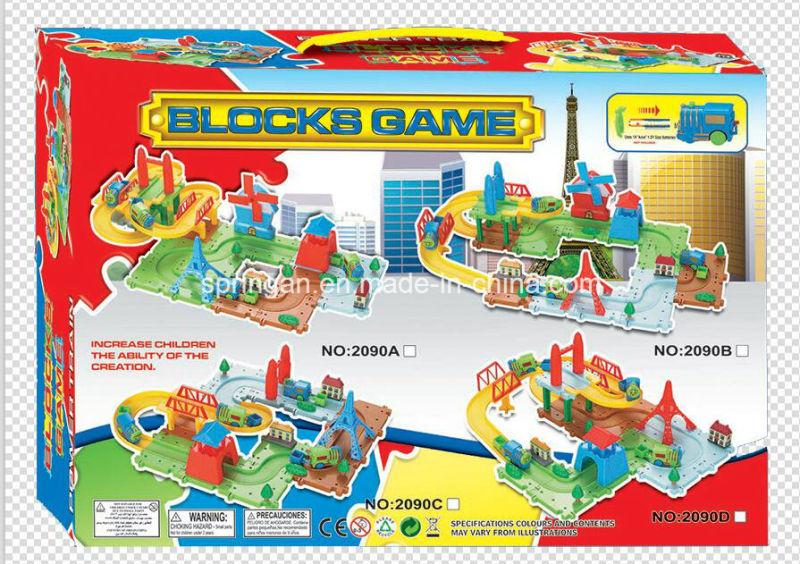 Trains Set Blocks Games Toy