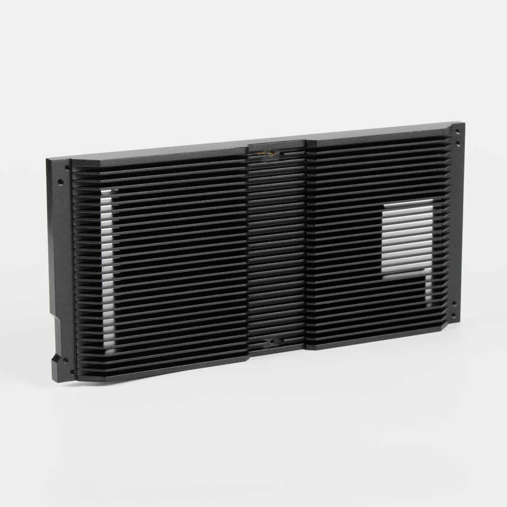 High Quality Aluminum Parts Custom Made Machining Aluminium Extrusion Heatsink