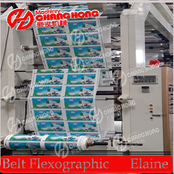6 Color Stack Type Printing Machine/Stack Printer Machine 100m/Min