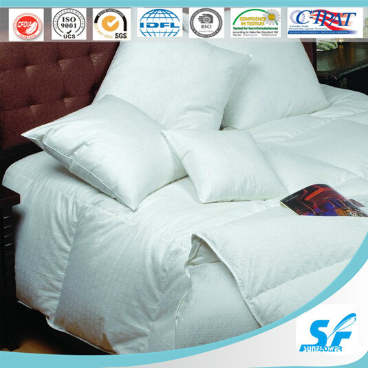 2015 New Hotel Goose Down and Feather Mattress Pad/Protector