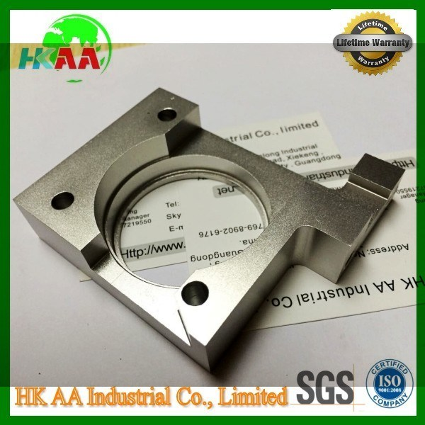 CNC Milling Machining Bracket, Anodized Aluminum Mounting Bracket