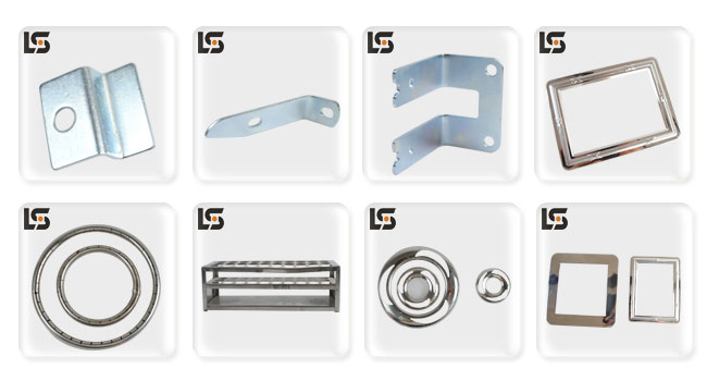 OEM and Customized Stamping Parts Metal Sheet Parts for Swimming Pool