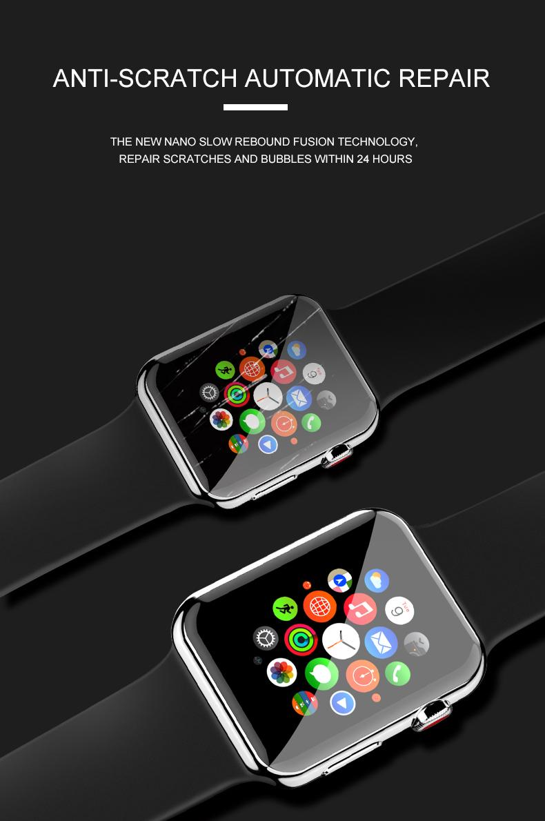 Anti-scratch watch protective film