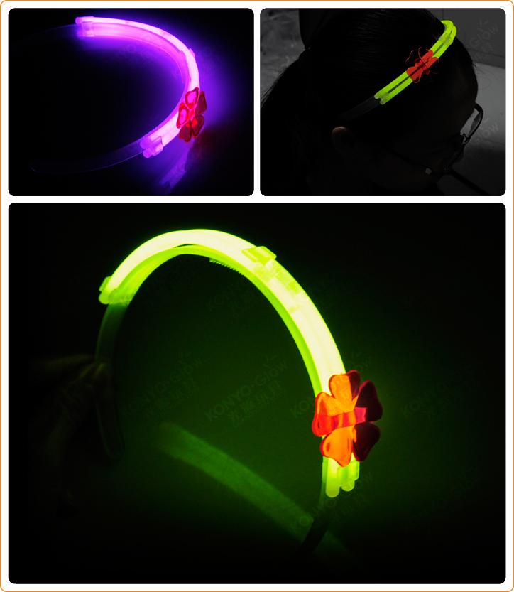 Glow Haripin Glow Stick Glow Ornaments