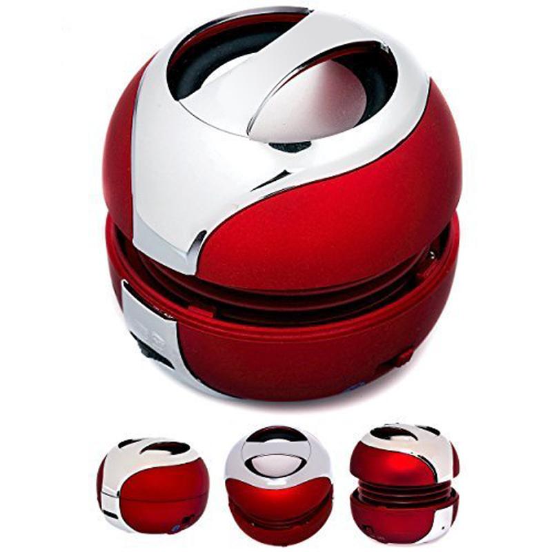 Red Color Wireless Professional Bluetooth Mini Speaker