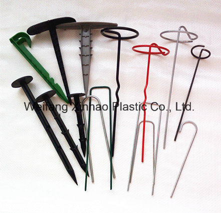 U Sharp Staples for Landscape Fabric and Ground Cover