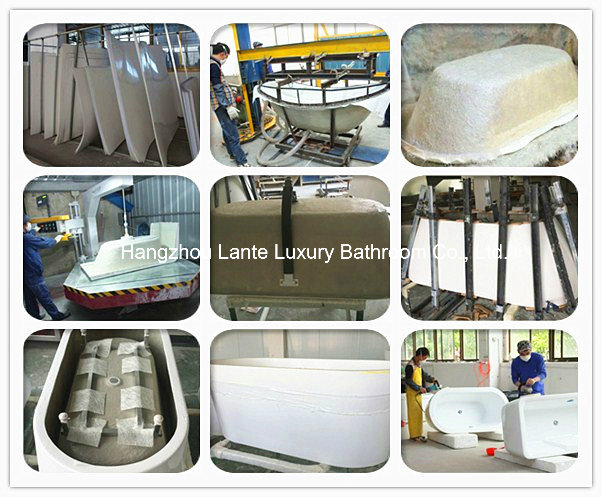 Good Quality Simple Fiberglass Bathtub (LT-29D)