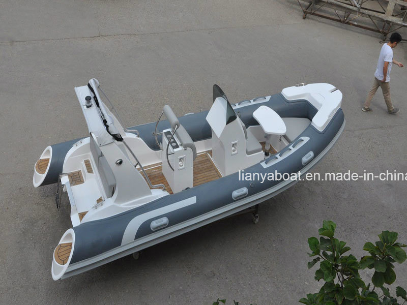 Liya 3.8 5.2m Fast Rescue Boat Inflatable Rib Sport Boat