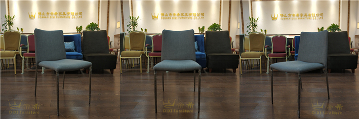 Simple Design Hotel Banquet Meeting Metal Dining Chair