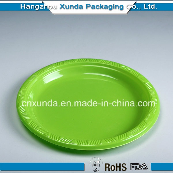 Plastic Plate with Dividers