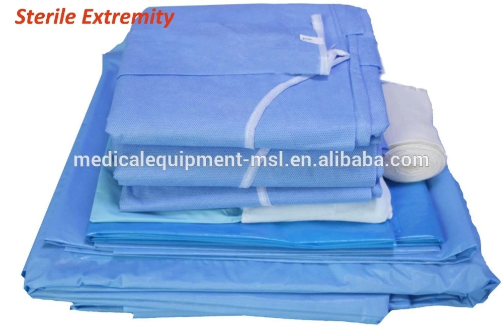 Disposable Sterile Surgical Gowns, Disposable Medical Gown, Disposable Hospital Gown Mslsp001