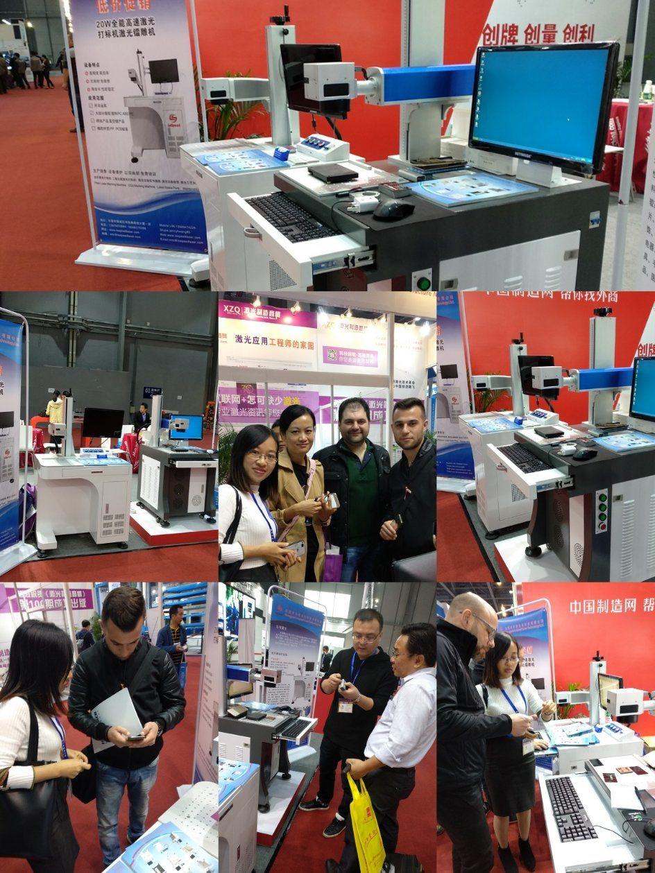 Promotion 20W Mopa Fiber Laser Marking Machine for Hardware Marking