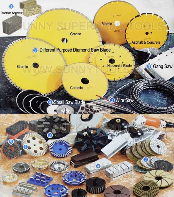 Diamond Tools for Stone