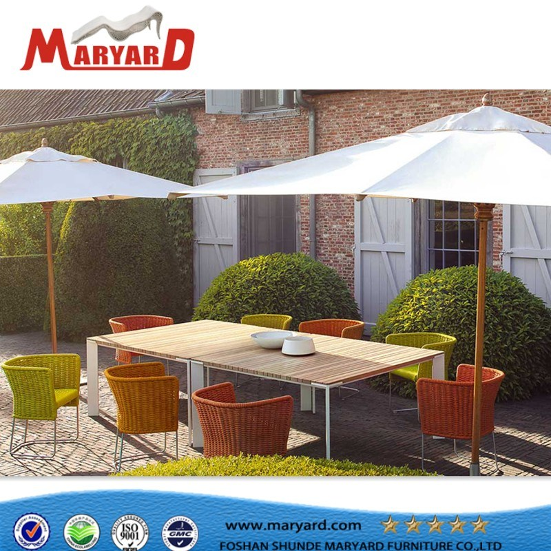 Rope Furniture Hotel Outdoorcord and Belt Dinng Table Chair Set