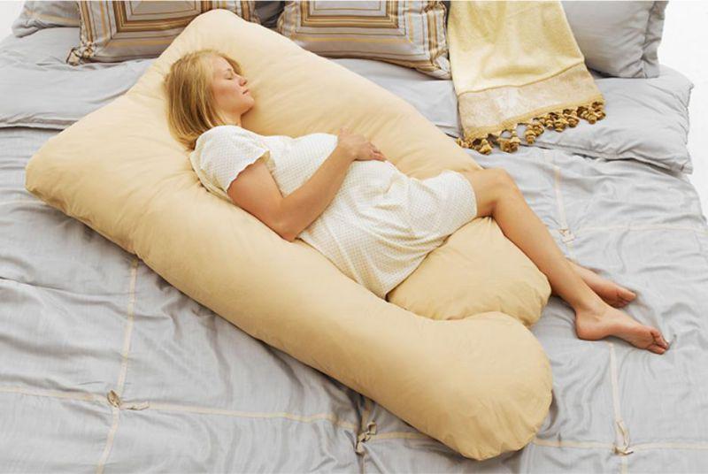 2015 Hot Sale Total U-Shape Body Pillow Pregnancy Pillow (DB021)