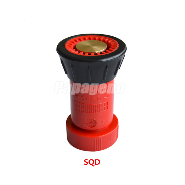 Polycarbonate Fire Hose Nozzle, Spray Hose Nozzle for Fire Fighting
