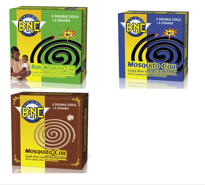 BNC Brand Mosquito Coil for Bangladesh Market Supplier for Mosquito Repellent