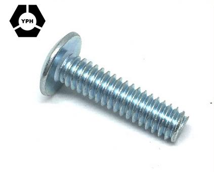 Standard Full Thread DIN Truss Head Machine Screw Slotted Machine Screw