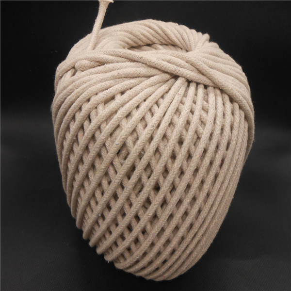 White Cotton Rope Cotton String Cotton Twist Rope Braided Rope