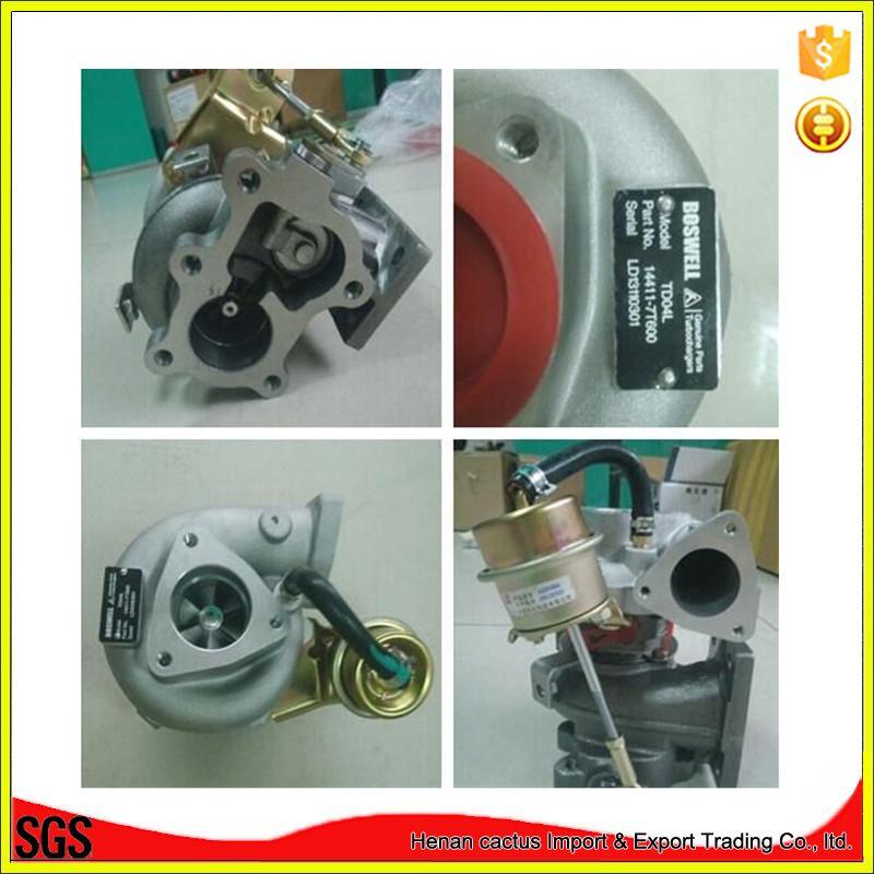 Td04L Turbocharger 14411-7t600 for Nissan D22 Navara Pickup Qd32 3.2L