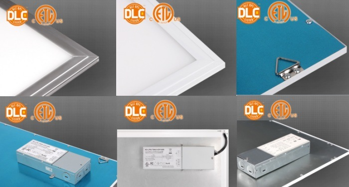0-10V Dimming UL Dlc LED Panel Light