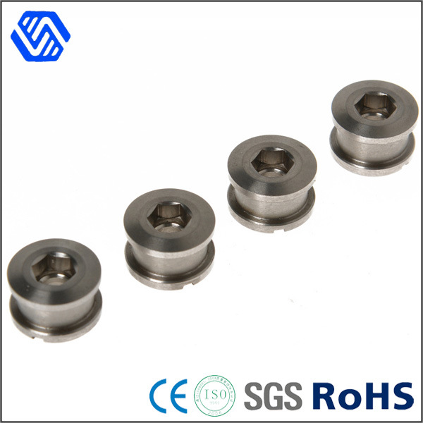 Hex Socket Anti Theft Nut Nickel Plated Nuts Slotted Custom Made Wheel Nut