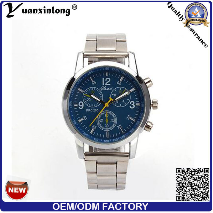 Yxl-661 Best Mens and Women Chronograph Stainless Steel Dise Wrist Band Watch