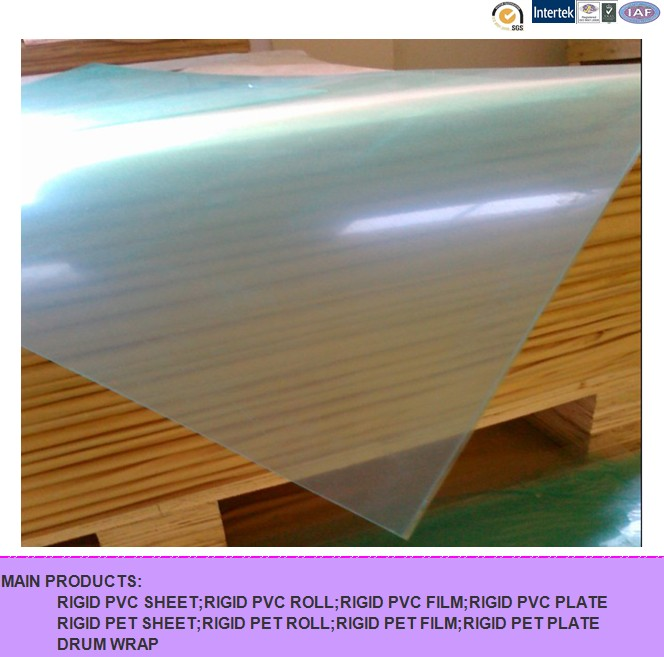 Rigid PVC Sheet, Transparent PVC Sheet, Clear PVC Sheet