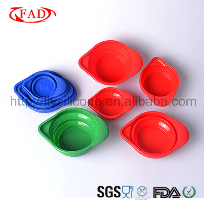 Flexible Convenient Silicone Measuring Cup