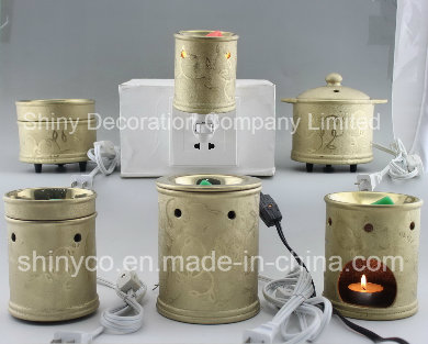15CE23990 Gold Plated Electric Fragrance Warmer
