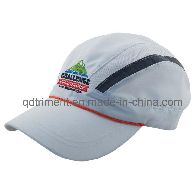 Polyester Peach Skin Microfiber Breathable Sport Racing Cap (TMR0546)