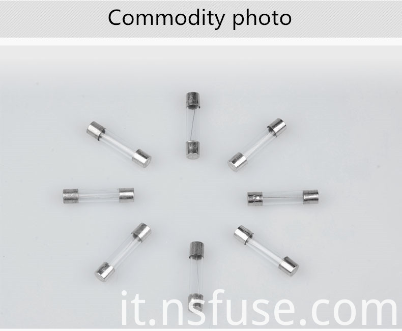 Priced Direct Selling High Quality Glass Fuse