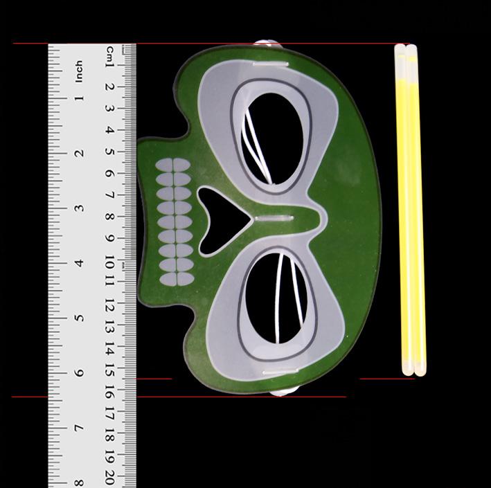 Halloween Glow Skull Mask (KLD5155)
