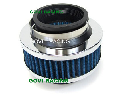 Bypass Valve Filter with Double Inlet 76mm Unversal for Air Intake Pipe