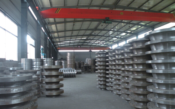 ASME/ANSI B16.5 Carbon Steel Weld Neck A105 Wn RF Flange (KT0406)