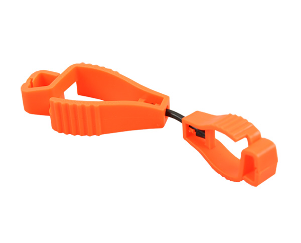 Free Sample Offered POM Plastic Safety Glove Guard Clips