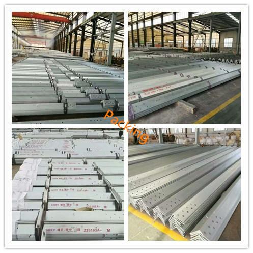10kv Power Transmission Steel Tubular Pole